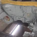 Motorraum konserviert