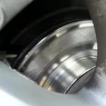 """Bremsscheiben mussten erneuert werrden da die alten mehr als nur """"Untermaß"""" und """"Ausgeglüht"""" waren"""