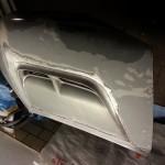 oberer Teil der Motorhaube ist nun blank...